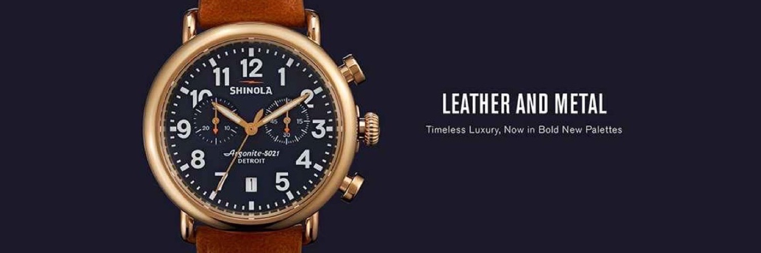 Lasker Jewelers Shinola-Detroit